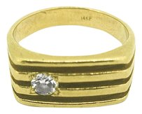 Other 14k Yellow Gold 0.21ct Diamond Ring