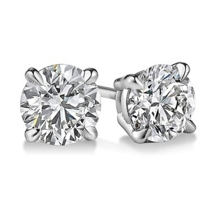 Other 2 Carrat 4 Prong Diamond Stud Earrings