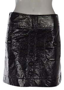 Jus D Orange Womens A Skirt Black