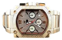Other Aqua Master Joe Rodeo Rose Gold Square Face White Diamonds Watch G Class