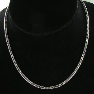 Other Arista Hsxtl 18 3.5mm Foxtail Woven Chain Sterling Silver