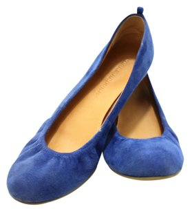 Audrey Brooke Suede PURPLE Flats