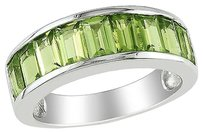 Other Sterling Silver 2 34 Ct Tgw Peridot Fashion Ring