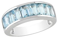 Other Sterling Silver 3 25 Ct Tgw Blue Topaz - Sky Fashion Ring