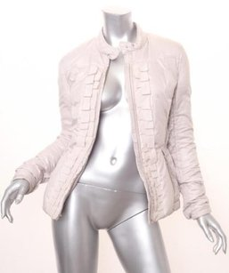 Other Cnc Costume National Womens Silver Down Coat 2842 Gray Jacket