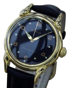 Other Benrus 1950s Gold Plated Swiss Made Mens Vintage Manual Dress Watch La92