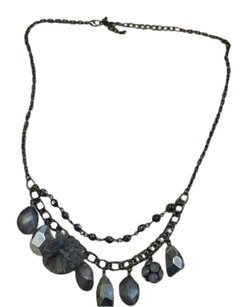 Other Black, silver,and gray Necklace