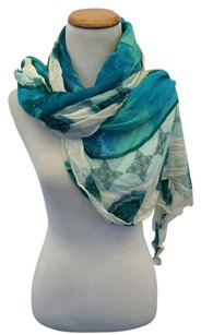Other Blue Print Scarf
