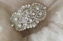 Bridal Hair Comb With Pearls And Crystals