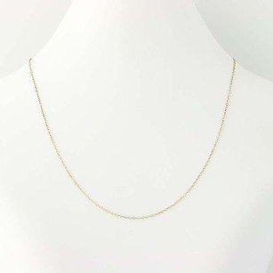 Other Cable Chain Necklace - 14k Yellow Gold 14.75 Short Spring Ring Clasp 0.6mm