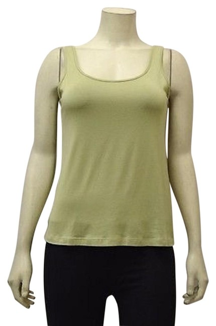 80%OFF Comfy Usa Citron Green Scoop Neck Casual Jersey Knit Tank Top 200935lm #14056426 - Tank Tops & Camis