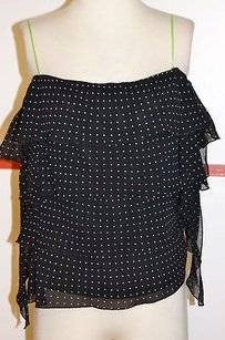 Other Citrine Black White 10 Rayon Tiered Spag Strap 10 7129 Top Multi-Color