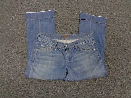 James Jeans Dry Aged Denim Wash Casual Cuffed Cropped Jeans Sma516 #15591676 - Capri/Cropped Denim 30%OFF