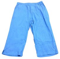 Other D And Co Denim And Company Crepe Pull On Capri 3679 A Capri/Cropped Pants Blue