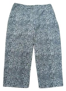 Zenergy By Chicos N Capri/Cropped Pants Black And White