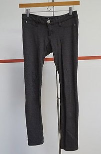Other Domino Charcoal Rayon Blend Pocket Zip Front Slim Leg 11130 Pants