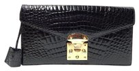 Eileen Kramer Genuine Black Clutch