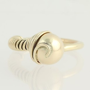 Other Contemporary Ring - 14k Yellow Gold Womens