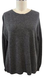 Other One Day Cashmere Black Fringe Back Sweater