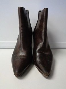 Cole Haan Pointed Dark Brown Boots
