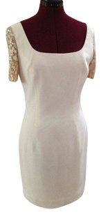 Classic Sequin Ivory Chic Dress