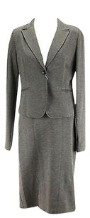 Emme Marella Womens Suit Grey Viscose Blend -