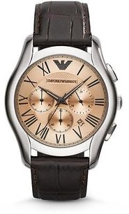 Other Emporio Armani Classic Leather Chronograph Mens Watch Ar1785