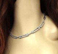 Other Estate 14k White Gold 2.50ctw Diamond Elegant Design Necklace