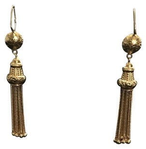 Other Estate Jewely 18kt Tassel Earring Estate Jewelry