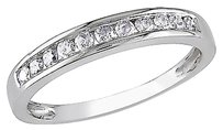 10k White Gold 14 Ct Diamond Tw Eternity Fashion Ring I2i3