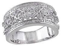 Sterling Silver 17 Ct Diamond Tw Geometric Fashion Ring Gh I2i3