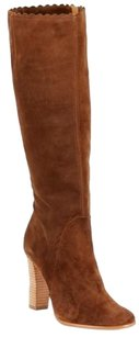 Aerin Womens Cloverly Toffee Brown Boots