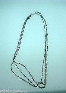 Other Fine Estate 14k White Gold Chain In 1 Necklace