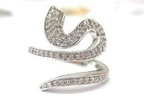 Other Fine Snake Diamond Jewelry Ring 14kt 0.65ct