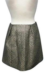 Full Skirt black, gold metallic