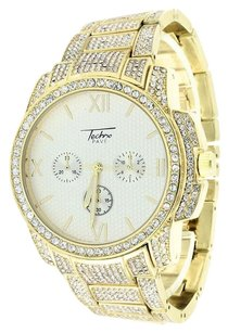 Other Gold Finish Watch Joe Rodeo Jojo Jojino Look Custom Design Iced Out Cubic Zircon