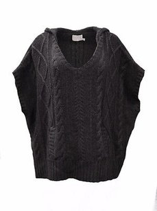 Michael Stars Charcoal Hooded Sweater