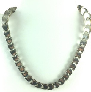 Other G .925 Sterling Silver Made In Italy Flat Link Necklace 16