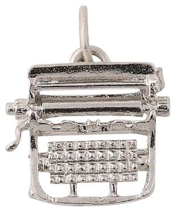 Other Classic Typewriter Charm - Sterling Silver Writing Journalism