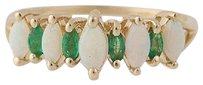 Other Tiered Opal Emerald Ring - 14k Yellow Gold 14 Womens .82ctw