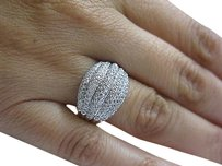 Other Fine,Ladys,Bamboo,5,Row,Diamond,Ring,Wg,14kt