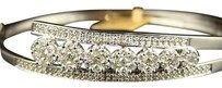 14k,Ladies,Journey,Round,Diamond,Bangle,Bracelet,2.25,C