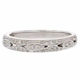 Other 0.26ct Diamond 14k White Gold Ring Si1-si2 G-h