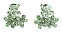 Van Cleef Arpels 18kt Diamond Socrate Earclips Earrings Wg 1.45ct