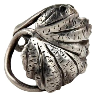 Other Estate Mario Buccellati Sterling Silver Oak Leaf Vine Ring -