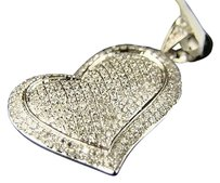 14k,Lady,Vs,White,Diamond,Heart,Love,Pendant,1.32,Ct