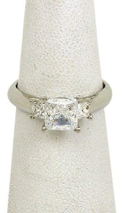 Other Scott Kay Platinum Diamonds Ladies Solitaire With Accent Ring Mounting