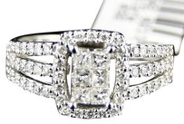 14k,Ladies,Womens,White,Gold,Princess,Cut,Diamond,Engagement,Wedding,Ring,12,Ct