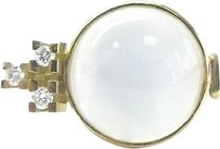 Other 18kt,Moonstone,Diamond,Yellow,Gold,Jewelry,Ring,10.15ct