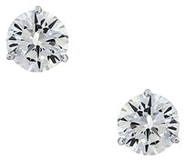 14k White Gold 5.43ctw Diamond Stud Earrings